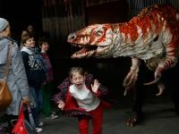 A dinosaur horror