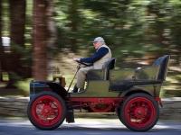 Old man, old car