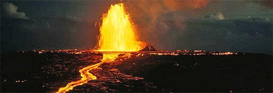 Maun Loa Volcano
