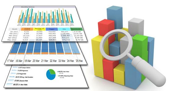 Statistics Tools AWstats GA StatComm